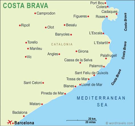 kaart-costa-brava